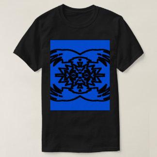 T-shirt Preto/azul #4 abstrato