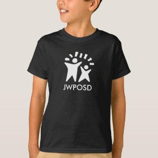 T-shirt preto do JWPOSD dos miúdos