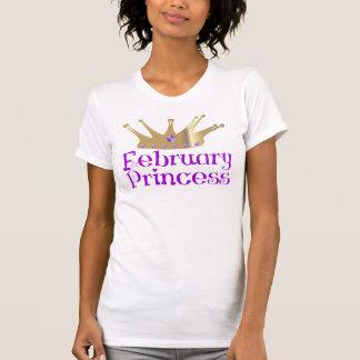 T-shirt Princesa de fevereiro