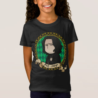 T-shirt Professor Snape Retrato do Anime