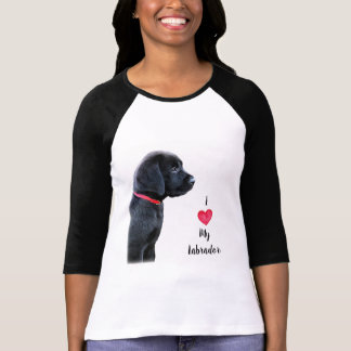 T-shirt Propriedade de um Labrador - amor de I meu
