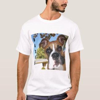 T-shirt Pugilista, cão