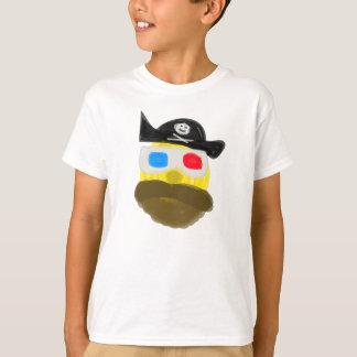 T-shirt Quadril-Quadril-Quadril-Hooray Sr. Sun como um