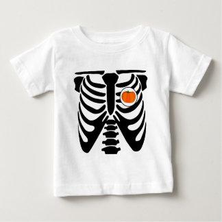 T-shirt raio X da abóbora