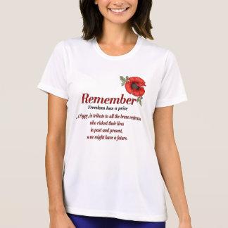 T-shirt Recorde a papoila