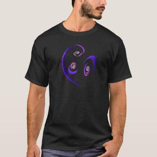 T-shirt Redemoinho roxo