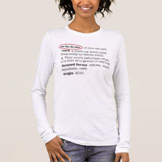T-shirt Refudiate
