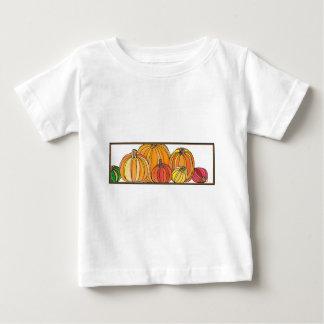 T-shirt Remendo da abóbora - design da abóbora da queda