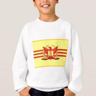 T-shirt República da bandeira das forças militares de