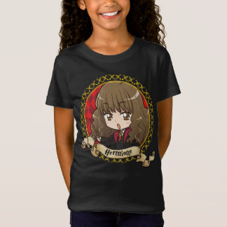 T-shirt Retrato de Hermione Granger do Anime