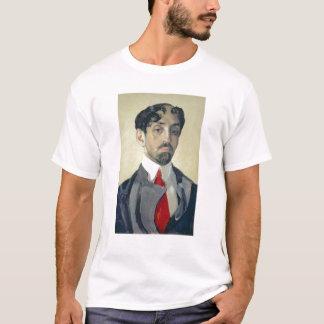 T-shirt Retrato de Mikhail Kuzmin, 1909