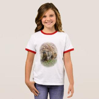 t-shirt - retrato do esquilo
