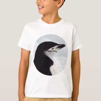 T-shirt Retrato do pinguim de Chinstrap