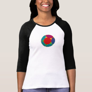 T-shirt retro colorido