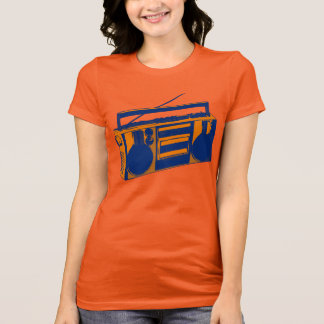 t-shirt retro de Boombox dos anos 80