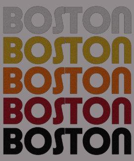 T-shirt retro de Boston