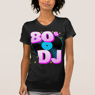 T-shirt retro do tigre 80s 80s DJ de Corey