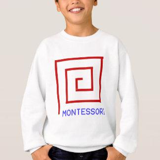 T-shirt Ros vermelhos Montessori