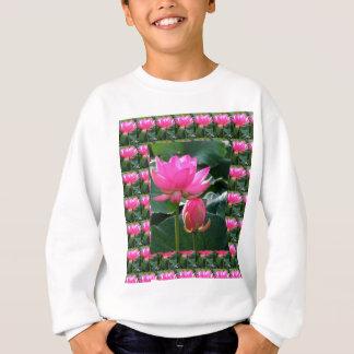 T-shirt Rosa e BOTÃO de LOTUS