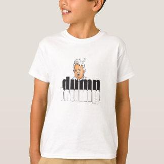 T-shirt Roupa do trunfo da descarga