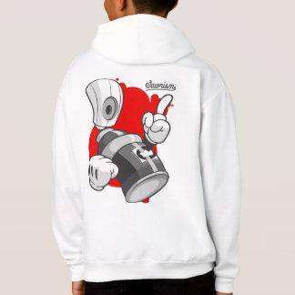 T-shirt Roupa urbana dos miúdos: A pintura pistola pode