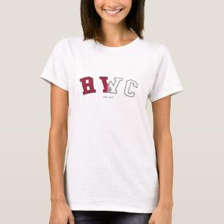T-shirt RWC em cores da bandeira do estado de Califórnia