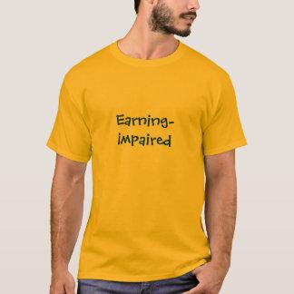 T-shirt Salário-Danificado