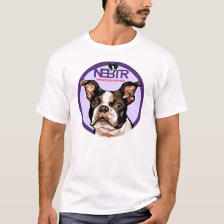 T-shirt Salvamento do nordeste de Boston Terrier