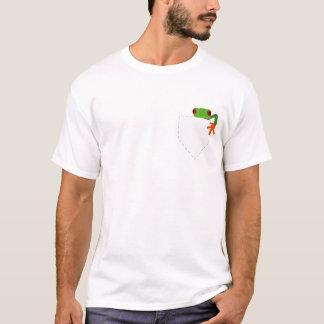 T-shirt Sapo em meu bolso