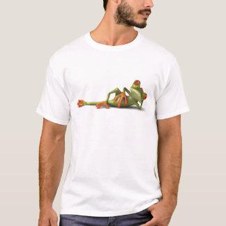 T-shirt Sapo preguiçoso