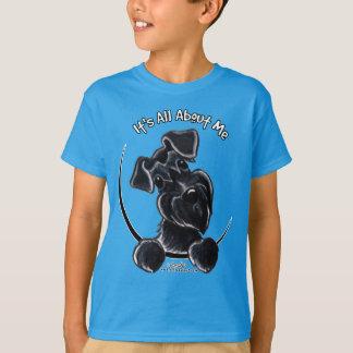 T-shirt Schnauzer preto IAAM