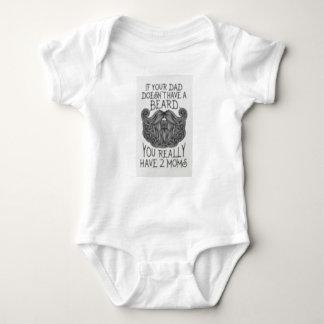 T-shirt Se seu pai não tem uma barba Onsie