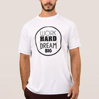 T-shirt seco da malha das citações inspiradores