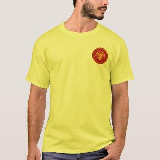 T-shirt Selo de Palaiologos do império bizantino