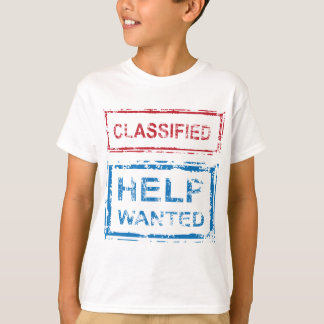 T-shirt Selo querido ajuda classificado do selo
