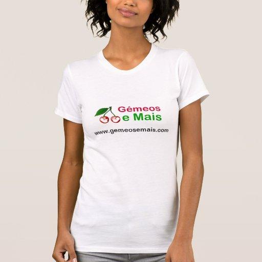 T-shirt Senhora Gémeos e Mais