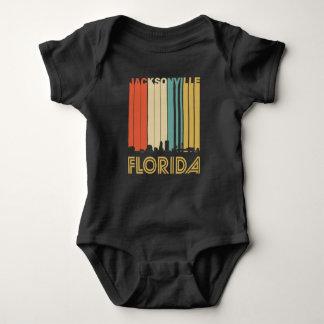 T-shirt Skyline retro de Jacksonville Florida
