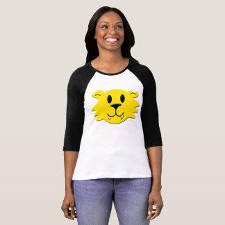 T-shirt Smiley do homem-lobo