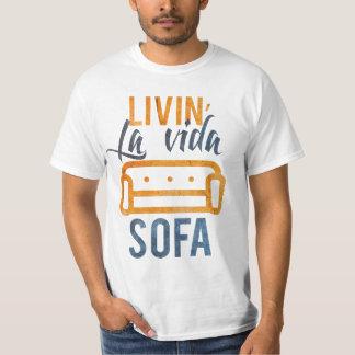 T-shirt Sofá do vida do la de Livin