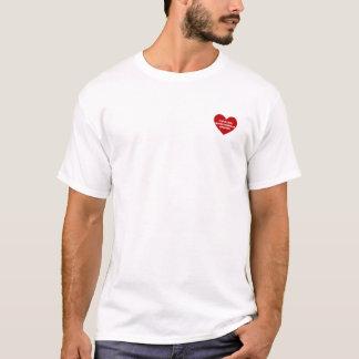 T-shirt Spaniel de rei Charles descuidado