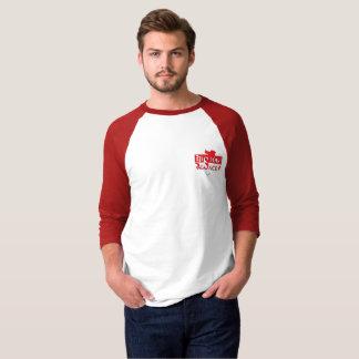 T-shirt Sr. manga colorées História Alsácia
