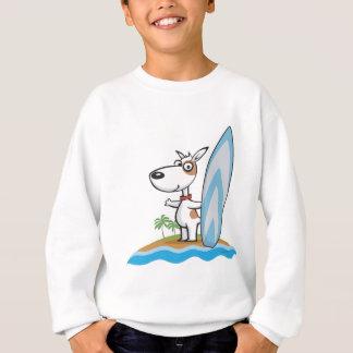 T-shirt Surfista do cão