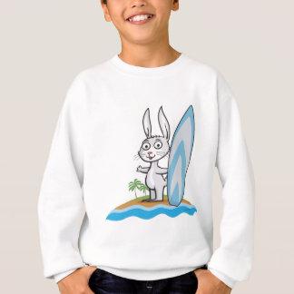T-shirt Surfista do coelho