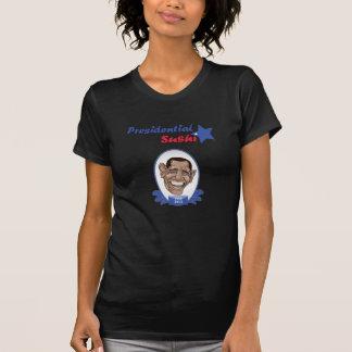 T-shirt Sushi presidencial de Obama do voto
