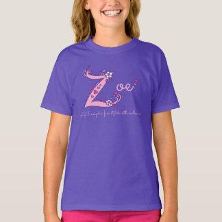 T-shirt T conhecido do costume do significado das meninas