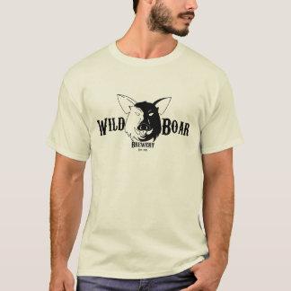 T-shirt T da cervejaria do javali