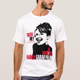 T-shirt T de Refudiate Sarah