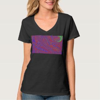 T-shirt T do derretimento das mulheres