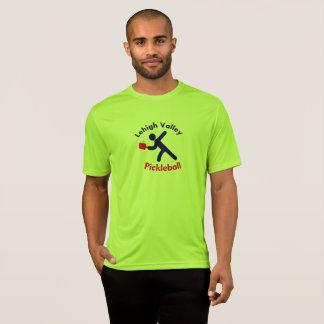 T-shirt T do desempenho de Pickleball do vale de Lehigh