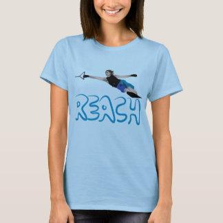 T-shirt T do slalom de Waterski